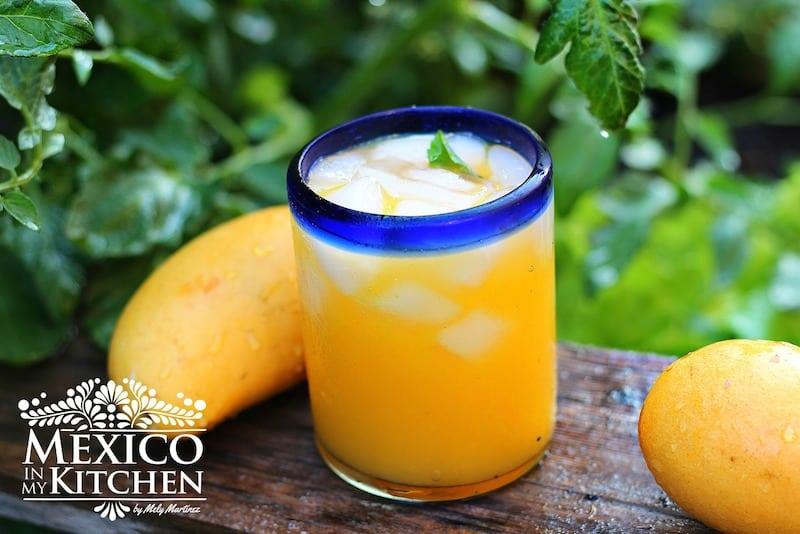 mango agua fresca receta