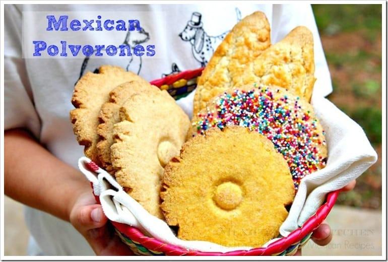 Pan de dulce polvorones mexicanos │ Recetas de Comida Mexicana