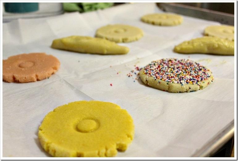 Pan de dulce polvorones mexicanos │ galletas