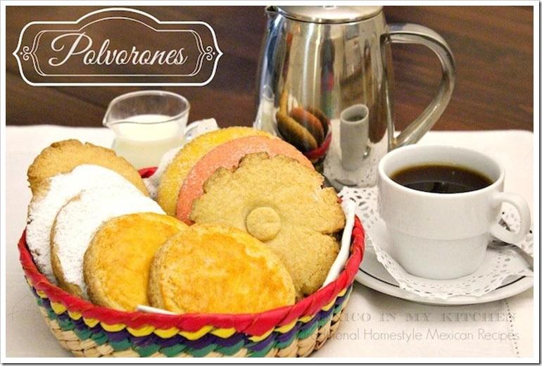 Pan de dulce polvorones mexicanos │ Comida Mexicana