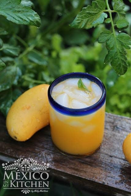 Agua de Mango │bebida mexicana