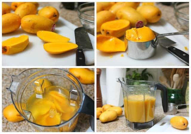 Agua de Mango │instrucciones paso a paso