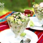 ceviche verde mexicano