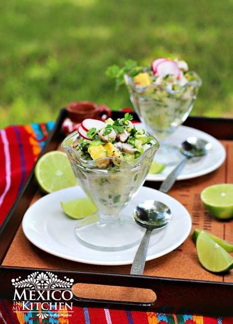 Ceviche Verde Mexicano │Comida Mexicana