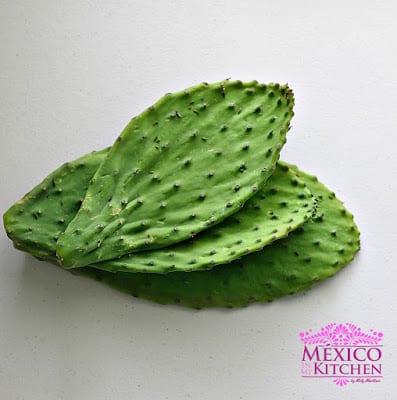 Nopales a la mexicana │Comida mexicana