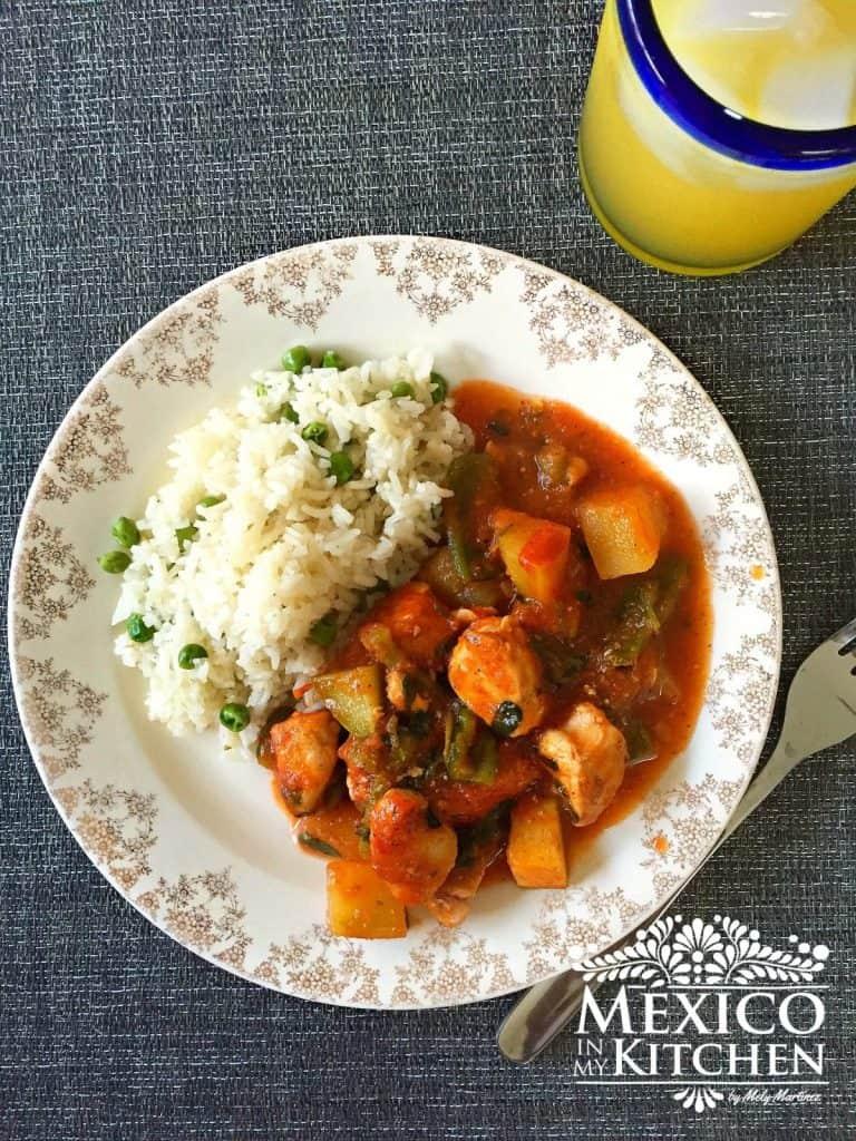 Receta Pechugas De Pollo Con Verduras Recetas De Comida