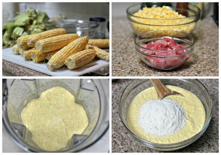 Receta Tamales de elote │Instrucciones paso a paso, rápido y fácil