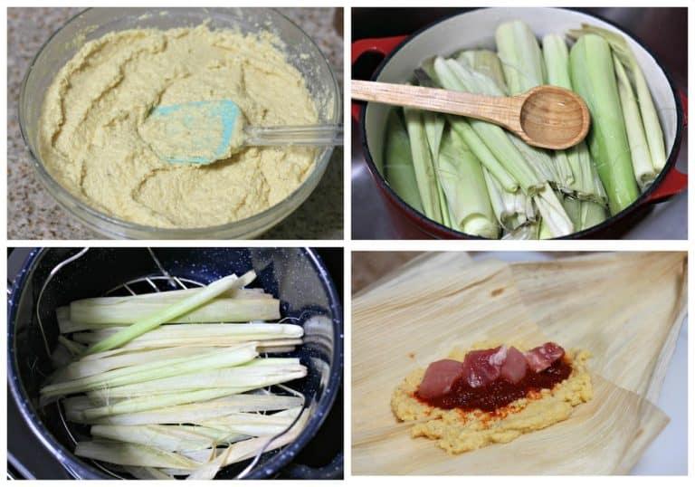 Receta Tamales de elote │sigue este sencillo tutorial
