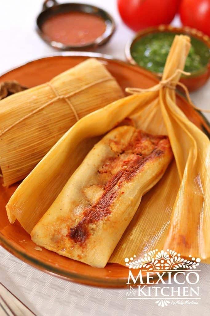 Receta Tamales de elote │Comida Mexicana