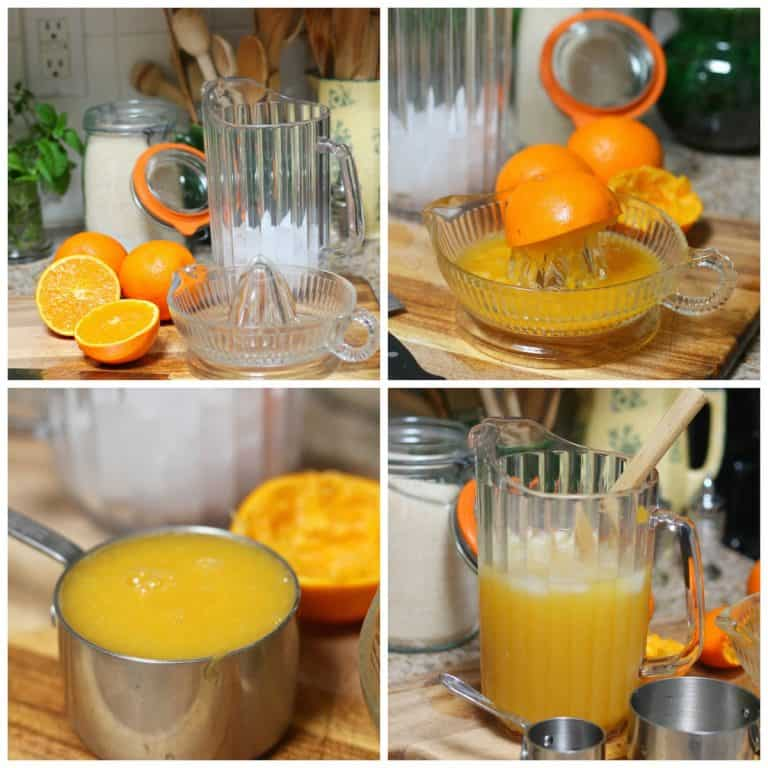 Receta agua de naranja │Instrucciones paso a paso