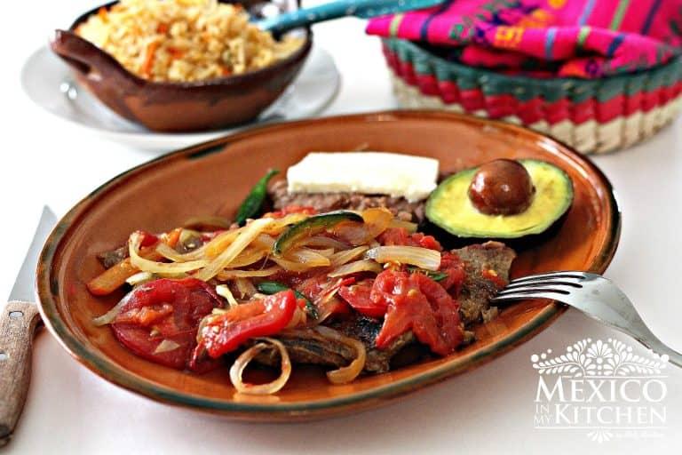 Bistec Ranchero │Recetas de comida mexicana