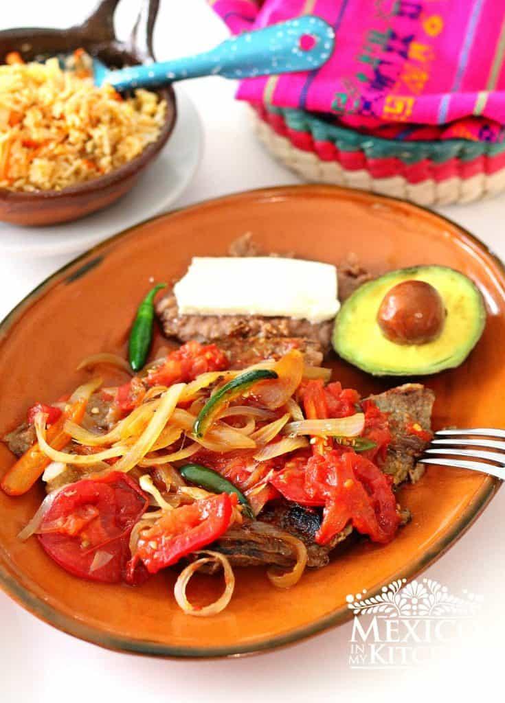 C mo hacer bistec ranchero recetas de comida mexicana Menu comida casera