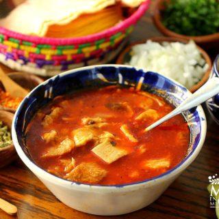 Receta de menudo pancita mondongo mexicano