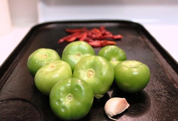 Salsa de Chile de Árbol │ Ingredientes