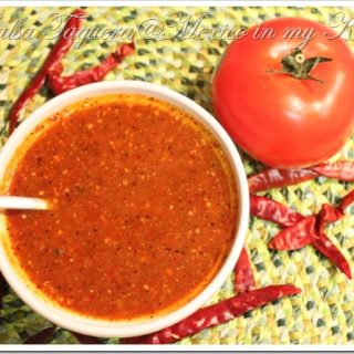 Receta de Salsa Taquera