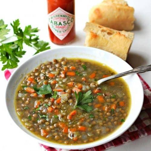 Cómo Hacer Sopa De Lentejas Recetas De Comida Mexicana