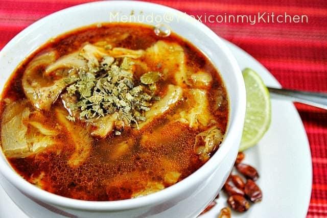 Sopa de Mondongo │Comida mexicana