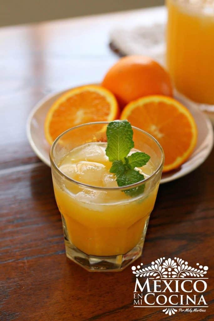 Agua de naranja | Aguas Fresca Mexicana