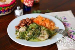 verdolagas con puerco receta mexicana