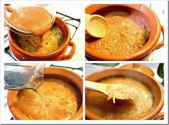 sopa de fideo│Comida Mexicana