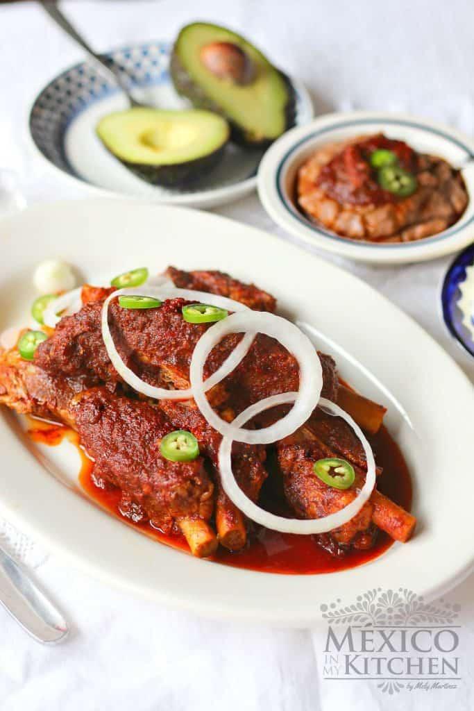 Costillas de Cerdo en Adobo │Recetas de Comida Mexicana