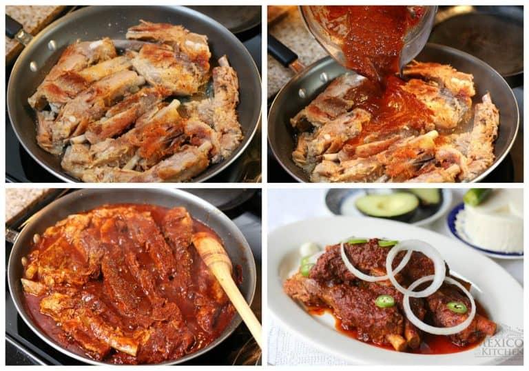 Costillas de Cerdo en Adobo, tutorial con imagenes