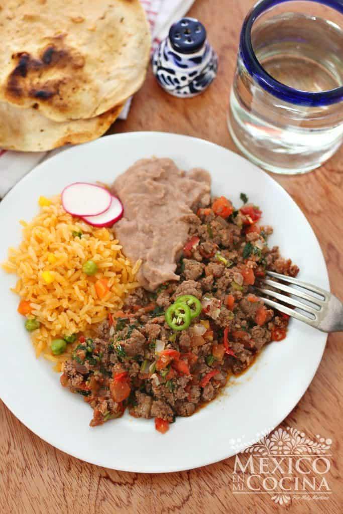 carne molida a la mexicana -1