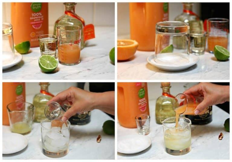 Instrucciones paso a paso para preparar receta de Cóctel Paloma │Bebidas mexicanas
