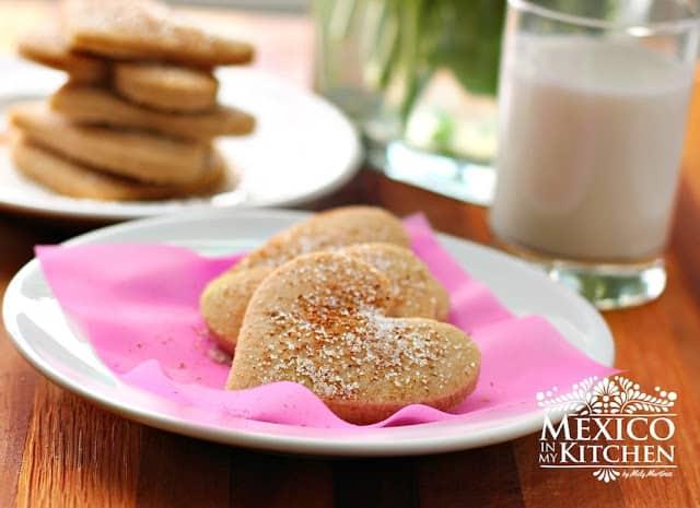 galletas hojarascas, receta mexicana