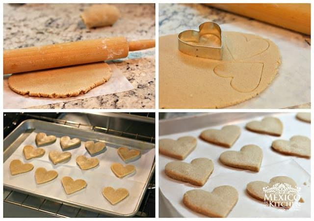 instrucciones paso a paso galletas hojarascas