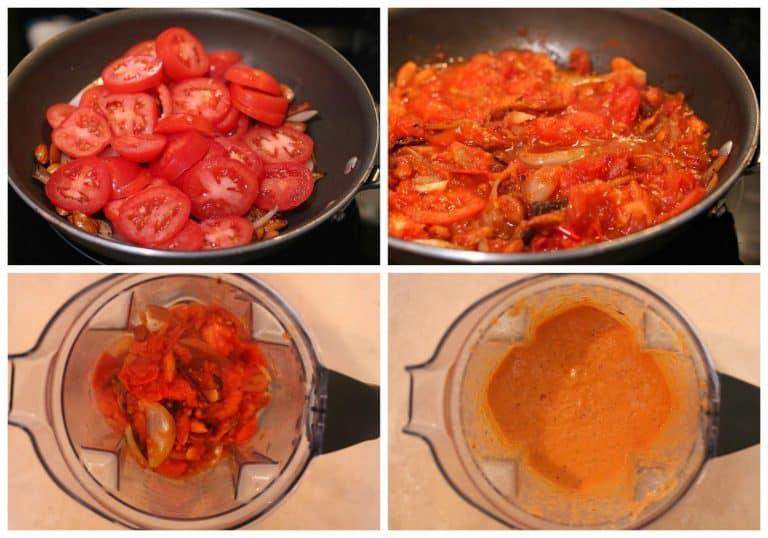 tutorial paso a paso para preparar lengua de res en salsa de almendras