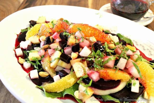 Ensalada Navideña │Recetas de comida mexicana