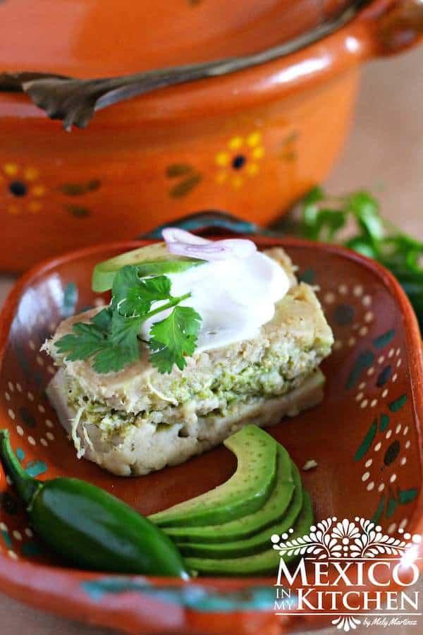 tamal de cazuela, recetas mexicanas