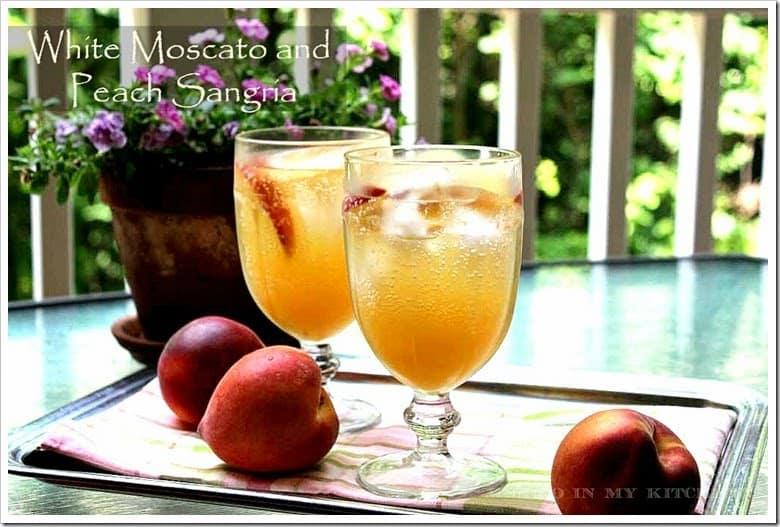 Sangria blanca de durazno │Recetas de bebidas mexicanas