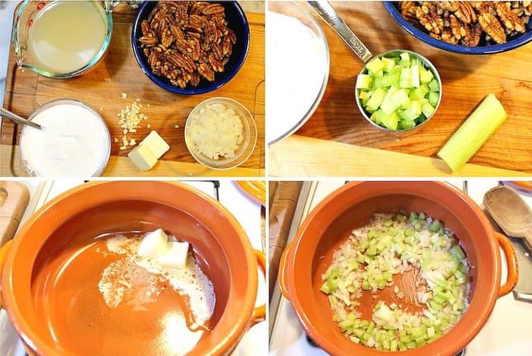 sopa de crema de nuez │sopas mexicanas