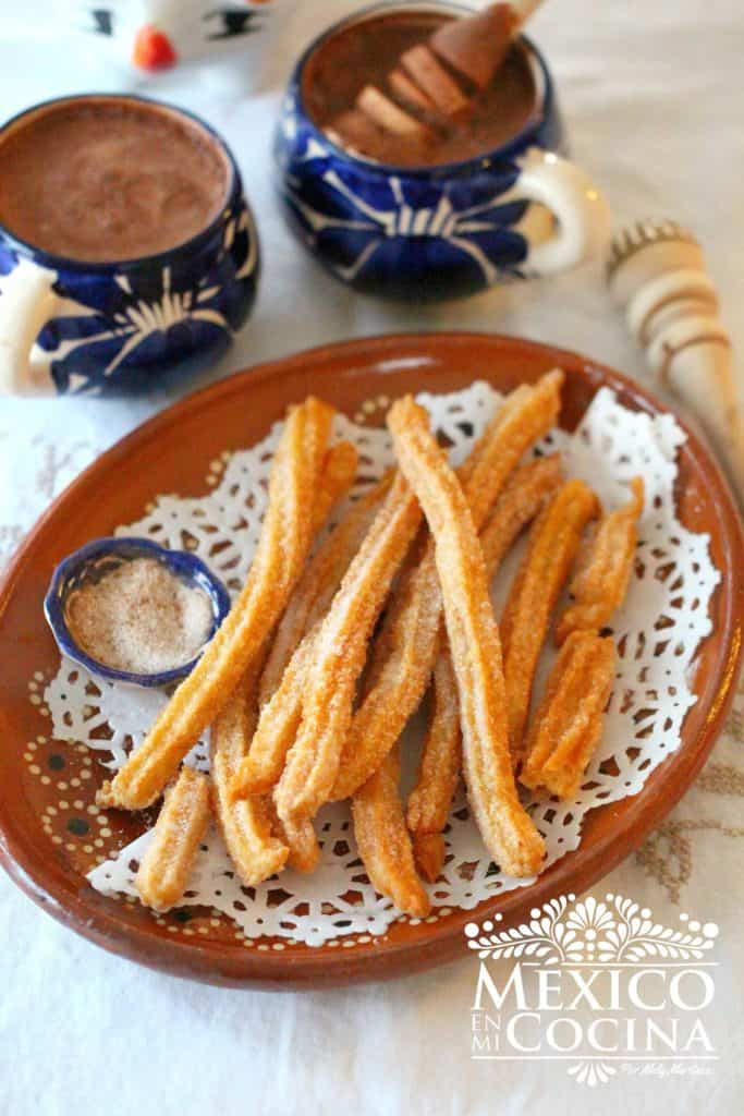 receta de churros caseros | Receta Mexicana