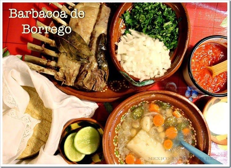 barbacoa de borrego │Recetas mexicanas