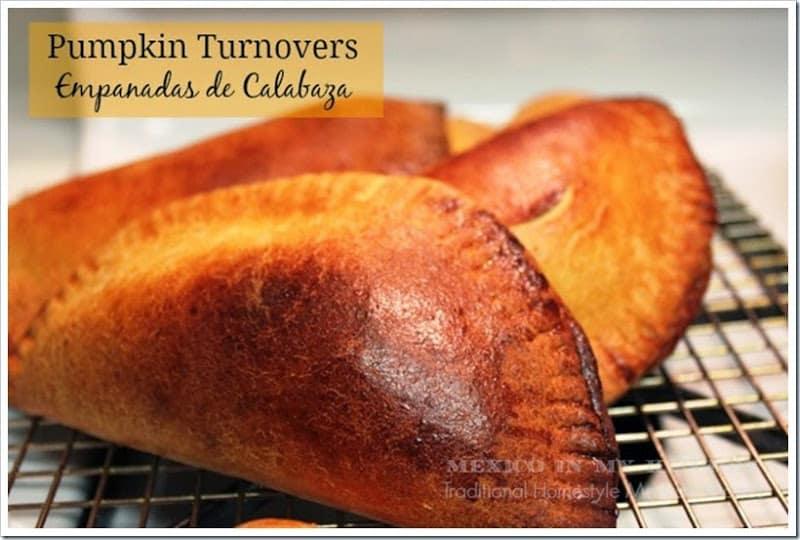Disfruta de esta deliciosa receta de empanadas de calabaza