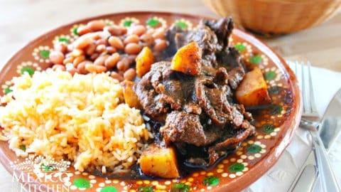 Bistec Con Papas En Salsa De Pasilla Recetas De Comida Mexicana México En Mi Cocina