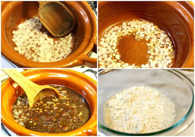 Instrucciones paso a paso para preparar Chochoyotes con frijoles negros, receta de comida mexicana