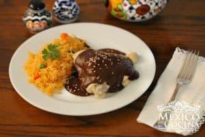 Receta de Mole doña María - Recetas de comida mexicanas -2