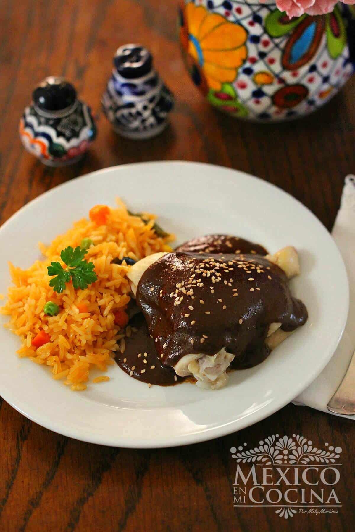 Receta Mole doña Maria - Recetas comida mexicana -1a