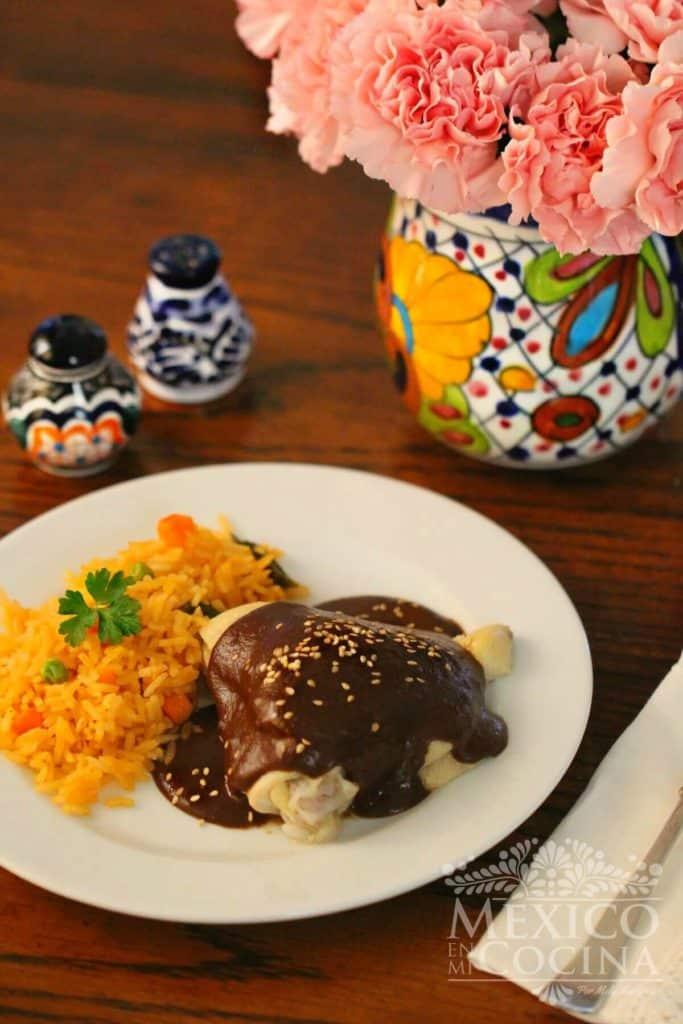 Receta Mole doña Maria - Recetas de comida Mexicana -1