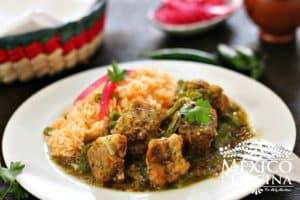 costillas de puerco - cerdo en salsa verde 1