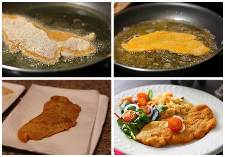 Lleva las pechugas de pollo a la sarte, receta de comida mexicana