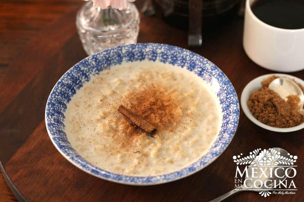 receta de avena con leche | recetas mexicanas
