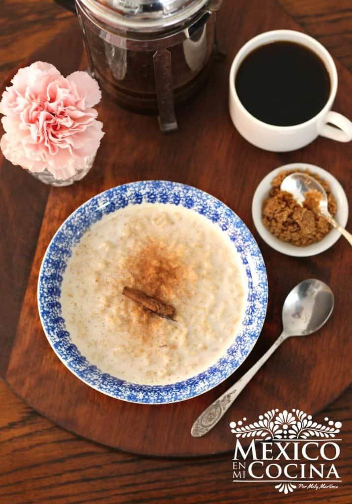 receta de avena con leche - recetas de comida mexicana -2