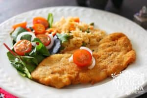 receta milanesa de pollo