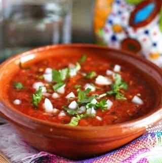 salsa de jalapeño rojo asado -2