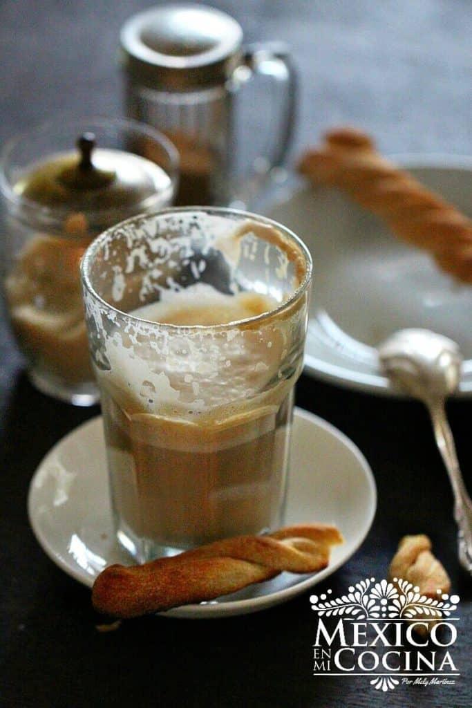 Café lechero receta la parroquia Veracruz